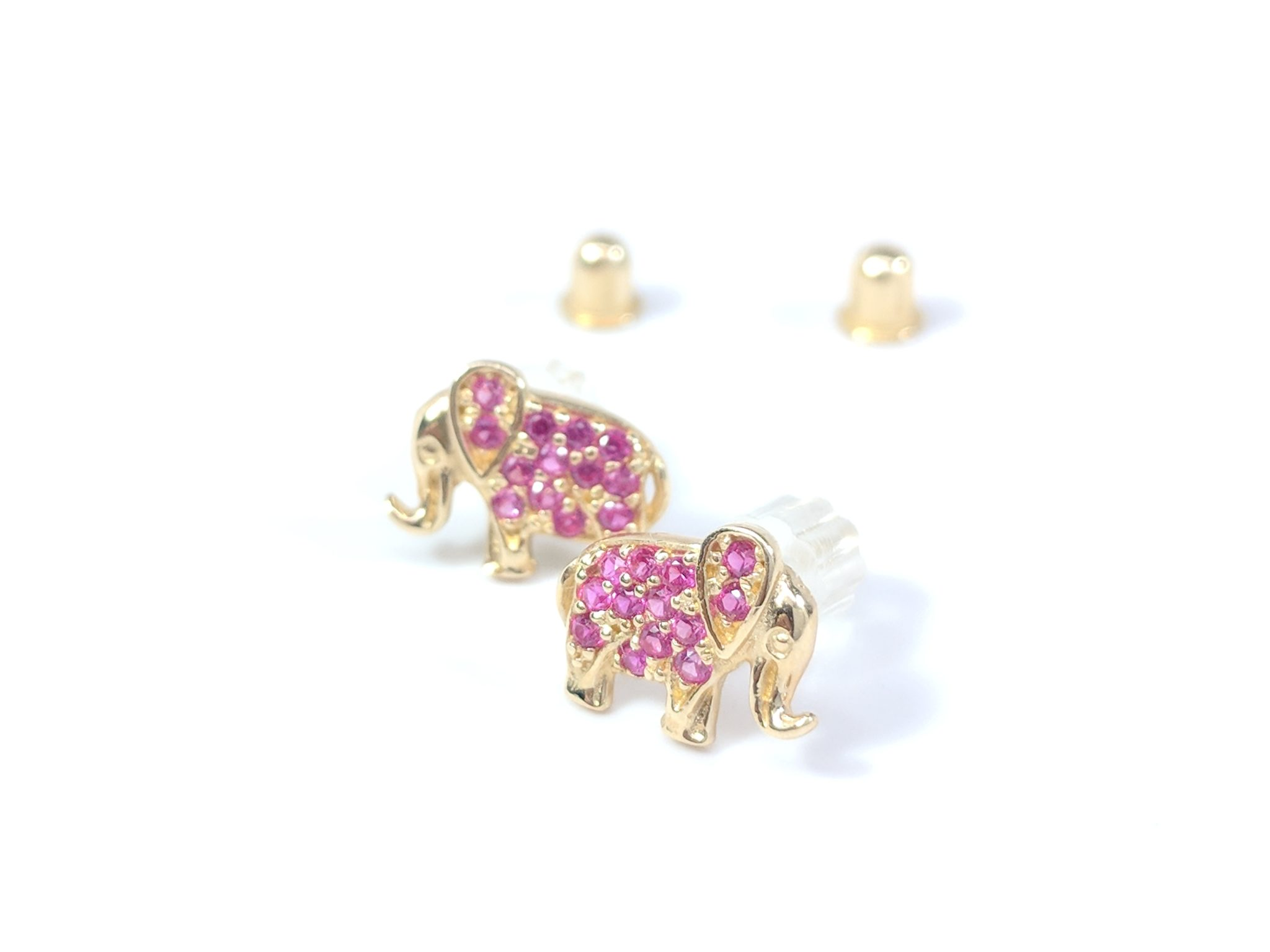 7950b387f Elephant Stud Earrings - Stud Earrings References