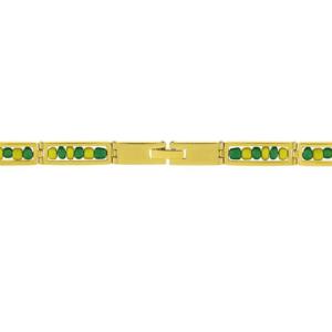 Stainless Steel Gold Plated Orula Ilde Bracelet Open 316L Guage Lock
