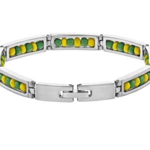 Stainless Steel Orula Ilde Bracelet Open 316L Guage