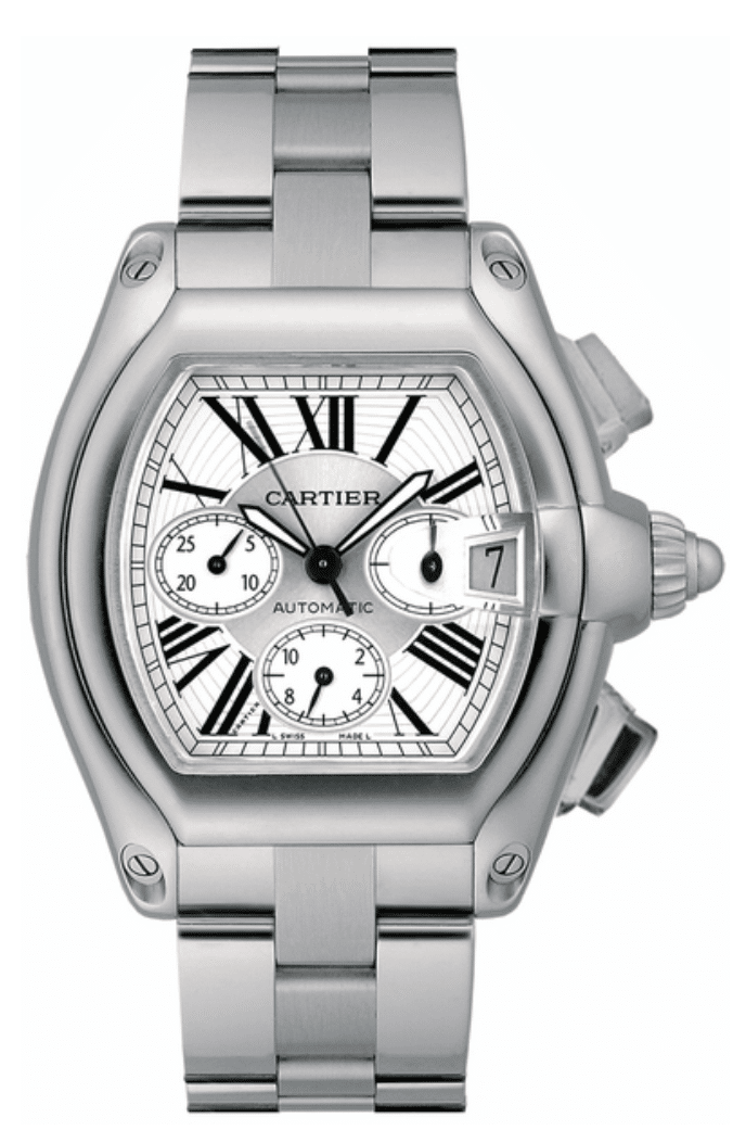 Pre-Owned Cartier Roadster XL Chronograph 2618