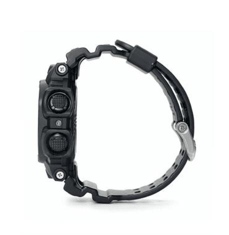 GX56BB-1 G-Shock by Casio Blackout XL size, Tough Solar, Side View