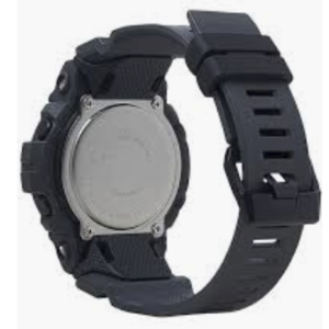 GBD800UC-8 G-Shock by Casio Black Bluetooth Connectivity Mineral Glass, Step Tracker, Back View